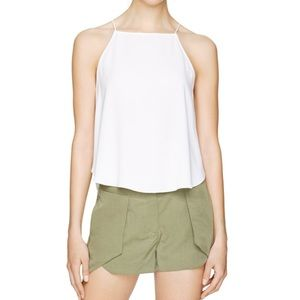 Aritzia Wilfred Cassis Blouse white size small